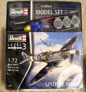 Revell-1-72-Supermarine-Spitfire-Mk-Vb-Fighter-WW2-Royal-Air-Force-KIT