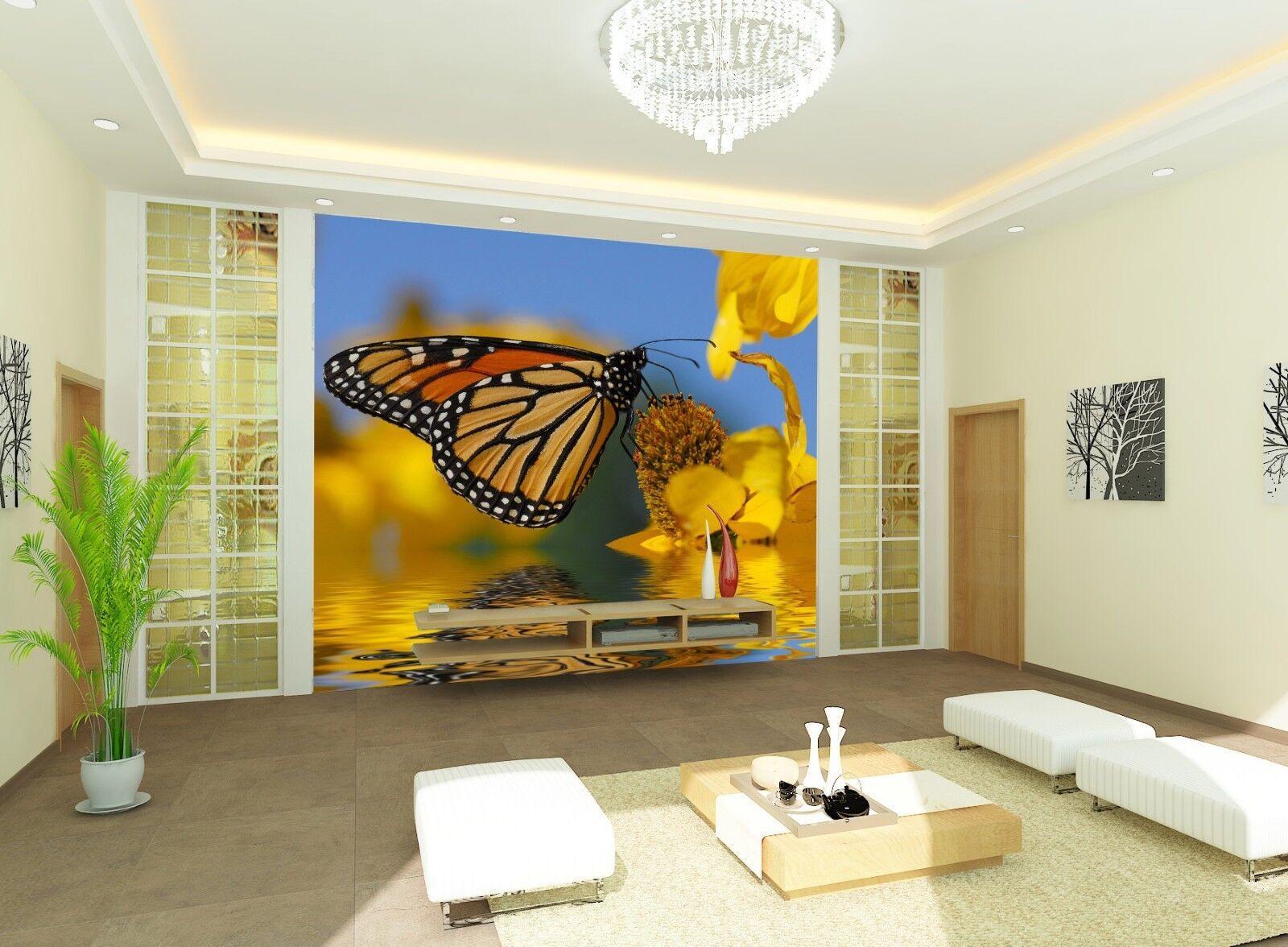 3D Schmetterling 57 Tapete Tapeten Mauer Foto Familie Tapete Wandgemälde Summer