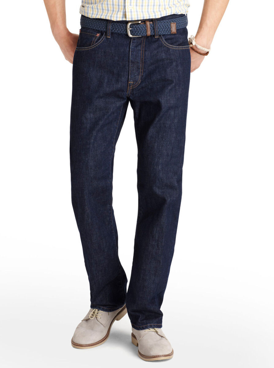 IZOD Relaxed-Fit Jeans, Rinse Used color, Size 52W x 34L, New w Tags