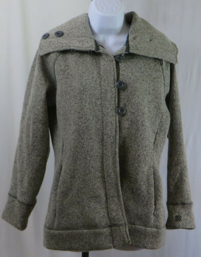 Tunique Avant Taille Womans Med Seaside Marine Pull West Zip Boutons Veste wSUY0qw