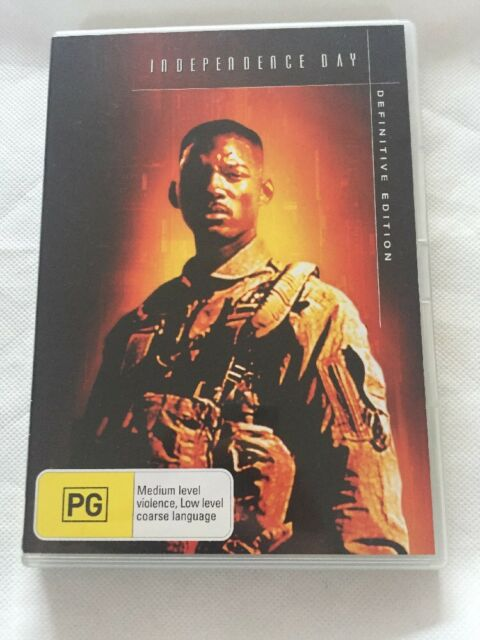INDEPENDENCE DAY - 2 DISC DEFINITIVE EDITION - WILL SMITH - JEFF GOLDBLUM - REG.