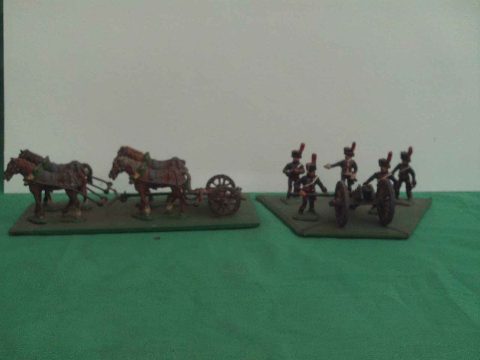 HINCHLIFFE 28mm WATERLOO NAPOLEONIC FRENCH GUARD HORSE ARTILLERY,CREW + LIMBER