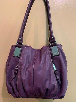 Tignanello Handbag Purse Mulberry