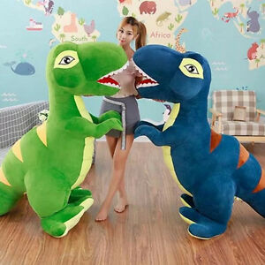 Giant-Large-Dinosaur-Rex-Stuffed-Animal-Plush-Soft-Toy-Doll-Birthday-Pillow-Gift