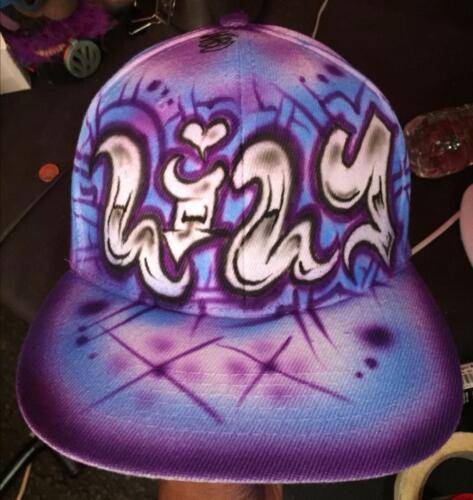 NEW Urbanist Graffiti 2 Colour Snapback Baseball Cap Block Style