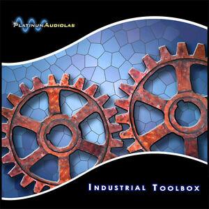 Industrial Sample CD AKAI S1000 Roland MV MV8800 MV8000 Fantom Yamaha Motif Disk
