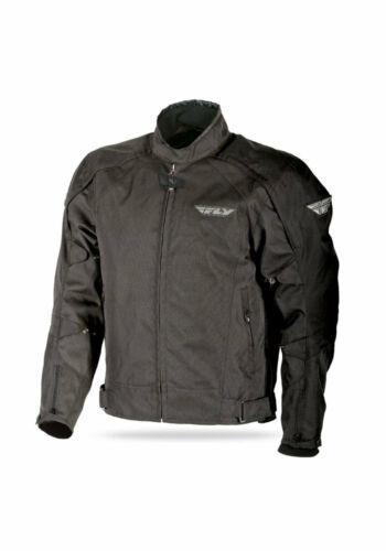 FLY RACING MEN/'S BUTANE 3 MOTORCYCLE JACKET BLACK W// ARMOR