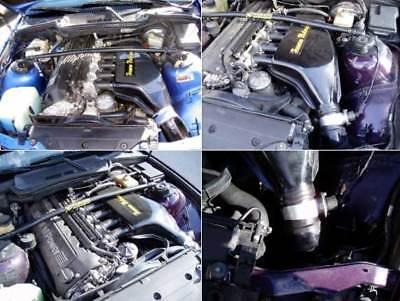 AnpassungsfäHig Bmw M3 E36 Carbon Airbox, Carbonfib E36 S50 S52 S54 Motor 2-tlg. Neuware