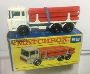 Matchbox-58-camion-DAF-Viga-Menta-en-Caja-Original