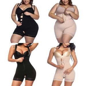 Fajas-Colombianas-Reductoras-Levanta-Cola-Women-Body-Shaper-Post-Surgery-Girdle