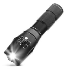 10000Lumens 5 Modes Zoomable LED 18650 Flashlight Torch Lamp Light