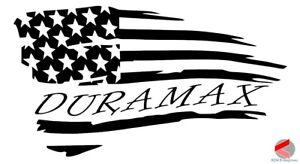Download Duramax Decal American Distressed Flag Window Sticker ...