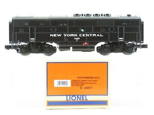 O Gauge 3-Rail Lionel 6-24517 NYC New York Central F7B Diesel #2405 w/TMCC