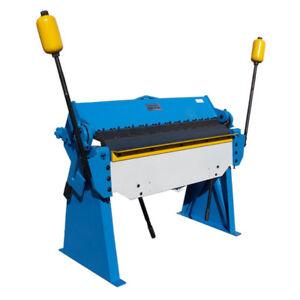 3-034-to-48-034-Pan-Finger-Brake-Box-Bender-Bending-4-039-x-12-Gauge-Metal-Fabrication