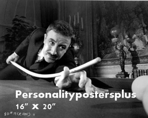 Peter Sellers~Shooting Pool~Playing Pool~Billiards~16 x 20 Photo