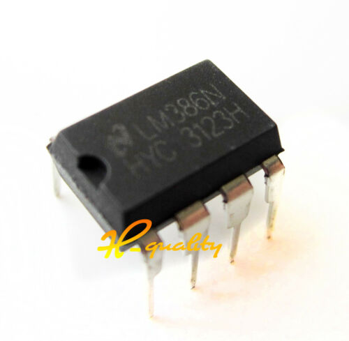 50PCS IC LM386N LM386 AMP AUDIO PWR MONO 8DIP NEW