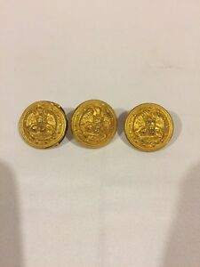 Details about Antique Superior Quality US Military Brass Buttons, Eagle,  Anchor, Stars