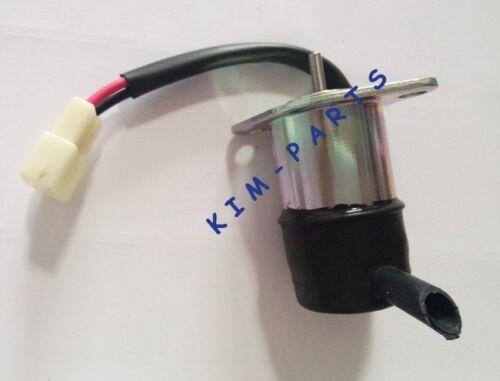 12V 16271-60012 Kubota BX2200D BX23D F2400 Fuel Shut Down Solenoid 052600-4150