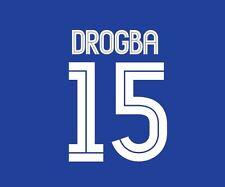 Drogba 15 Chelsea 2004-2006 home champions league Football Nameset