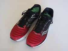 Saucony Men's Athletic Shoes Sneakers, Colors: Blk/Red/White, Size 14