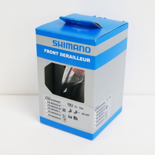 Shimano DEORE FD-M6000-E 3x10 SIDE SWING Front Derailleur E-Type IFDM6000E6
