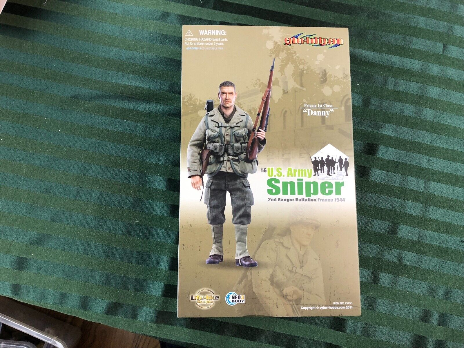 Cyber-Hobby 2nd Ranger Battalion Sniper Private 1st Class  Danny  France 1944