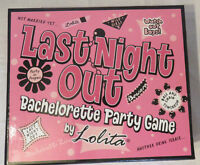 Lolita Last Night Out Bachelorette Party Game - Sealed In Box -