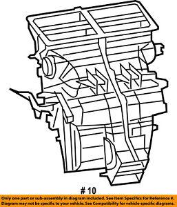 image is loading jeep-chrysler-oem-06-07-commander-front-evaporator-