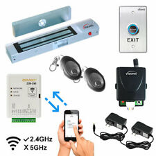 Visionis One Door Access Control Kit With Maglock Zem Cwi Exit Button