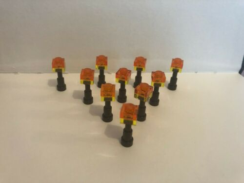 10 x LEGO MINECRAFT TORCHES