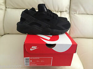 NIKE-AIR-HUARACHE-TRIPLE-ALL-BLACK-UK-ALL-SIZES-5-13-NEW-6-7-8-9-10-11-12