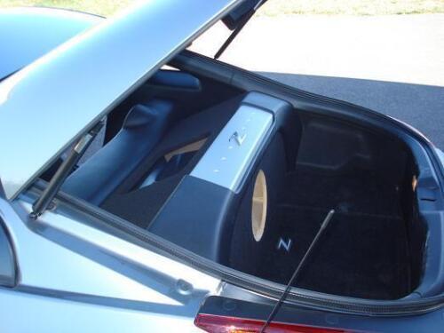 Custom Ported Subwoofer Enclosure Box /& Plexiglass Amp Rack Fits Nissan 350Z