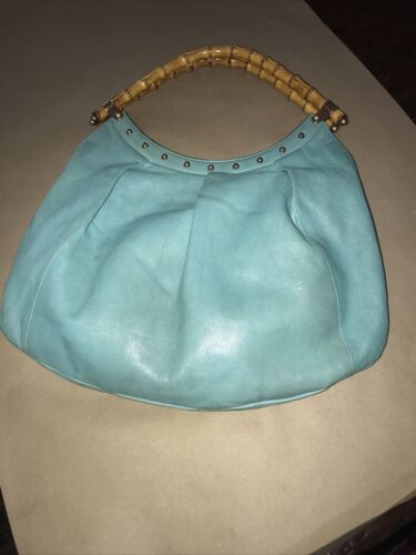 Gucci Bag Bamboo Handle All leather Large