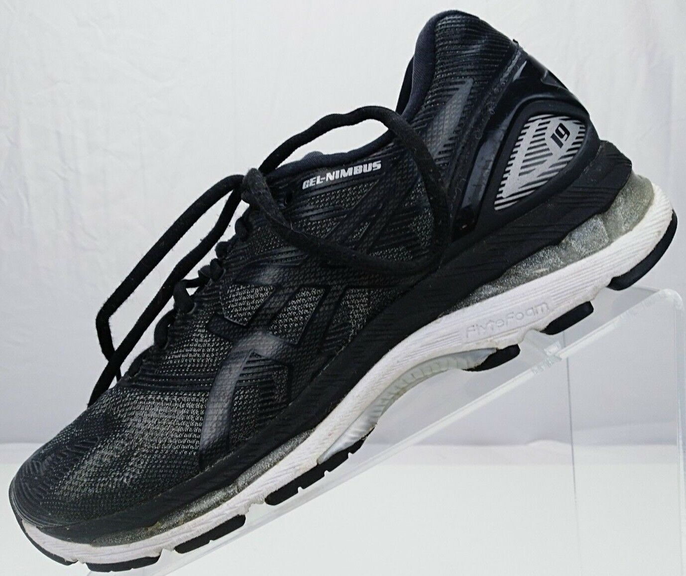 Asics Gel Nimbus 19 - - - Running Training Athletic scarpe da ginnastica donna Dimensione 8.5 nero 4a5ae9