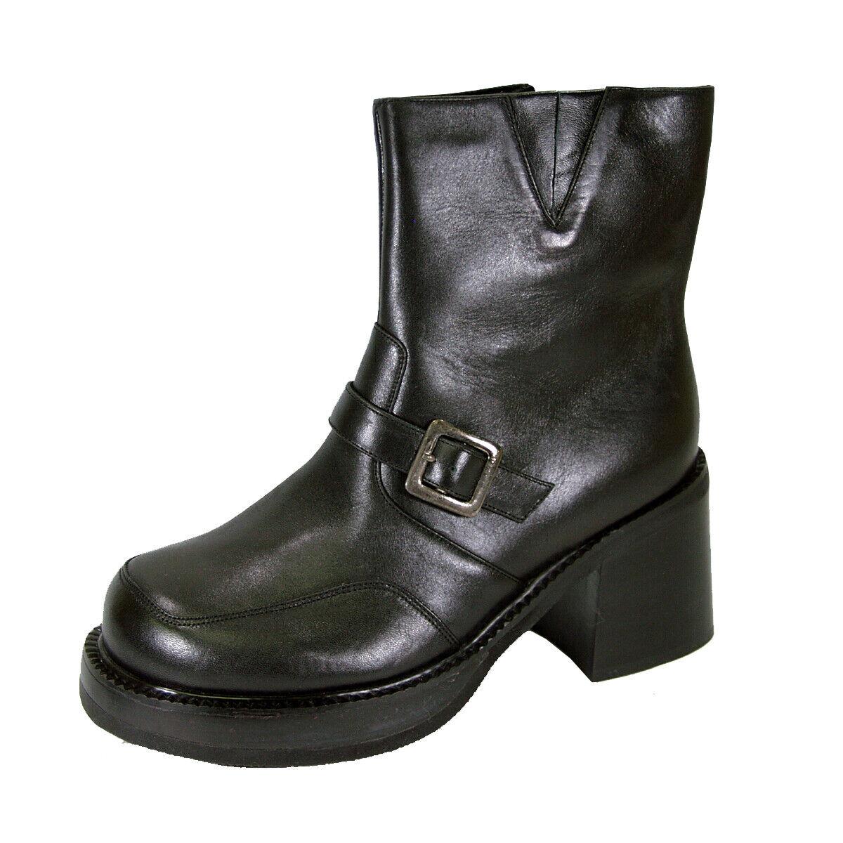 PEERAGE Hilda Women Wide Width Elegant Comfort Leather Dress Bootie Fall Winter