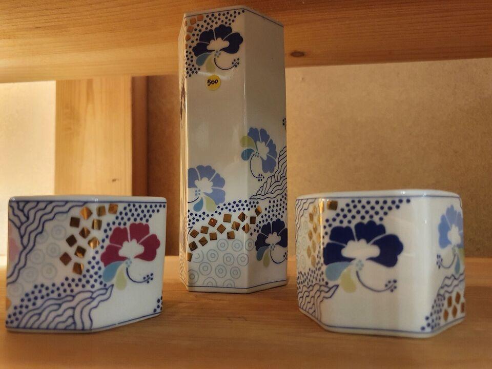 Porcelæn, fyrfadslys, B&G