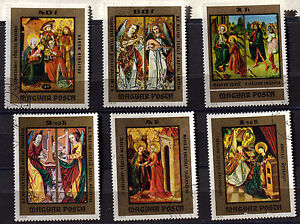 Hungary-Paintings-Pack-Stamps-78M1