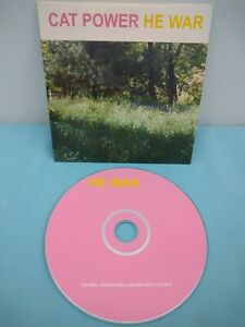 Cat-Power-He-War-Promo-CD-Single-3-Tracks
