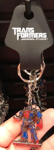 Universal Studios Exclusive Transformers Optimus Prime Figure Metal Keychain New