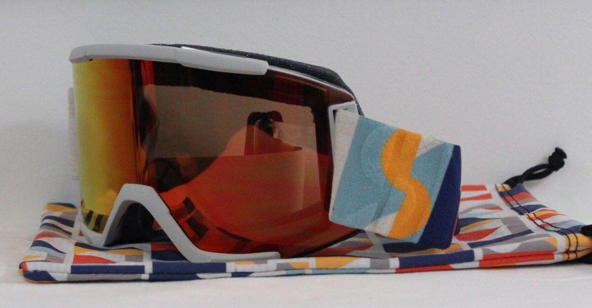 2019 Smith Squad Ski Snowboard Goggles  Evan Hecox ChromaPop Everyday Red Mirror  wholesale prices