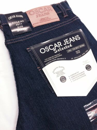 OSCAR JEANS SKINNY FIT CA-4511 Men/'s Pants Black Khaki Blue Rinse Black