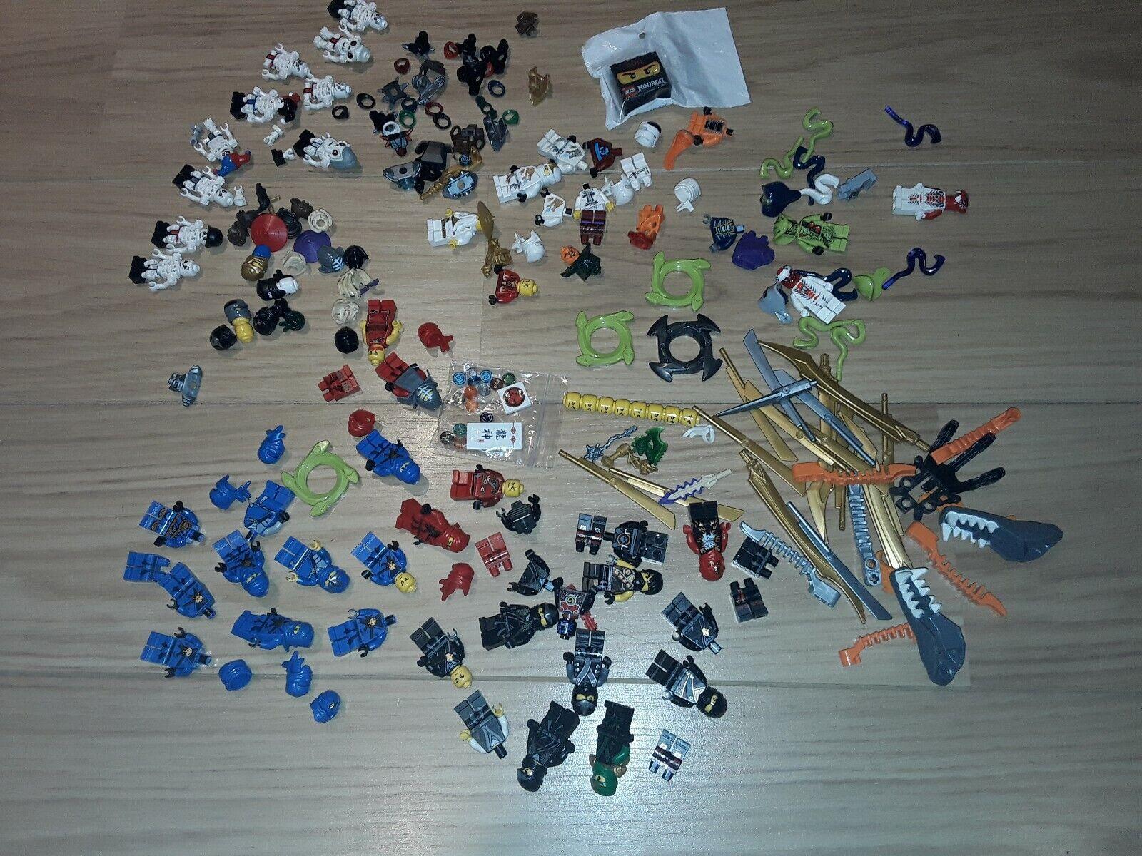 Massive LEGO NINJAGO MINIcifra & ACCESSORI Bundle Sensei  Wu & Altri  Sconto del 40%