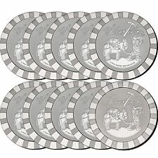 SilverTowne Stackables Trademark Prospector 5oz .999 Silver Medallion 10pc