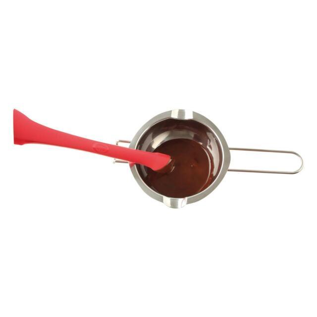 Oetker flexxible silicona-espátula ayudante de cocina platino de silicona 1925 El Dr