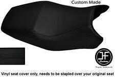 BLACK AUTOMOTIVE VINYL CUSTOM FITS DUCATI ST2 ST4 DUAL SEAT COVER ONLY