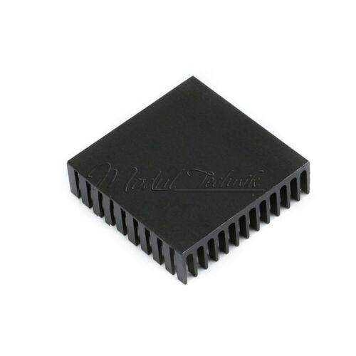 Aluminum 40x40x11mm Heatsink Cooling for LED Power Memory Chip IC Transistor