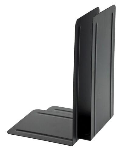 1 Paar schwarz XXL Alco 4303-11 Buchstützen Metall 130x240x140 mm