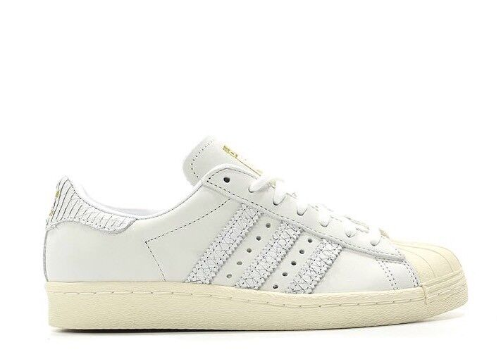 the best attitude 29a88 66841 ... Adidas Originals Superstar Superstar Superstar 80s Women s Shoes Snake  Effect BY9075 White Size 6 cc9702 ...