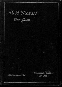 Mozart-Don-Juan-Klavierauszug-von-Dr-Wilhelm-Kienzel-gebunden