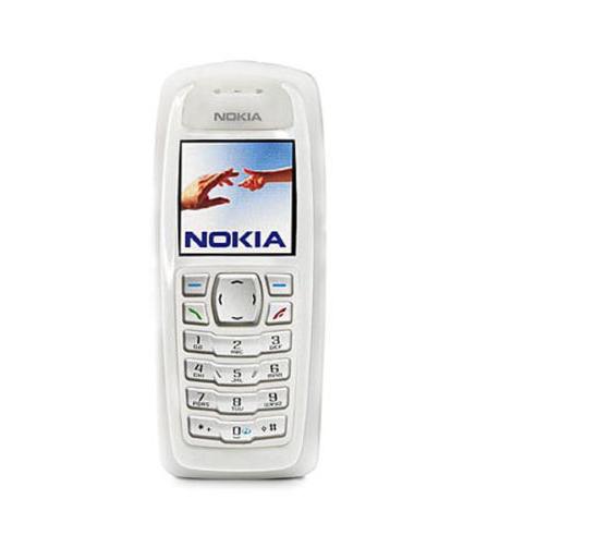 Nokia 3100 White Unlocked GSM 2G Mobile Phone Refurbished